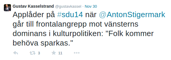 Kasselstrand-tweet-2014-11-30-vänsterns-dominans