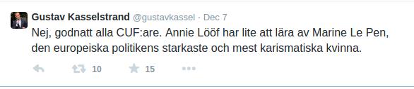 Kasselstrand-tweet-2014-12-07-Marine-Le-Pen